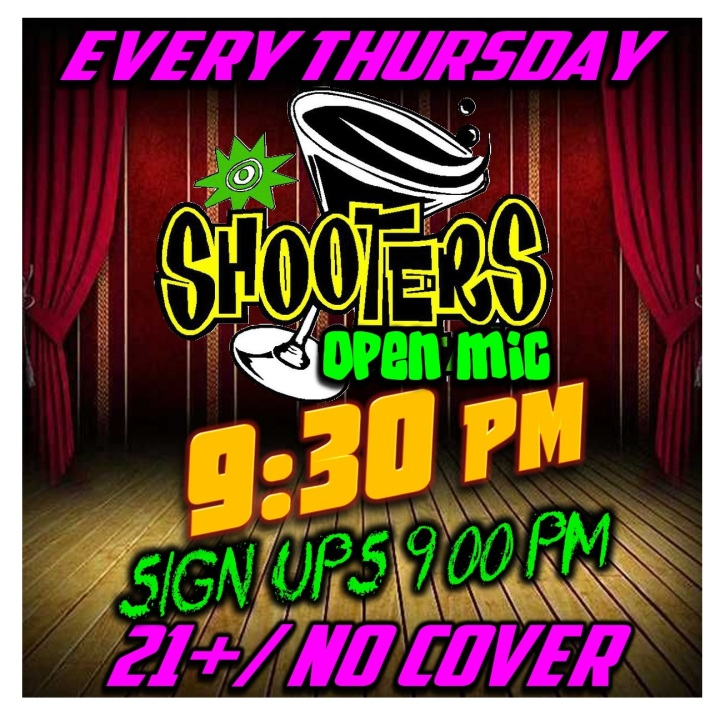 Shooter's Open Mic Square